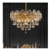 设计师轻奢全铜水晶吊灯现代简约大气客厅卧室餐厅家用别